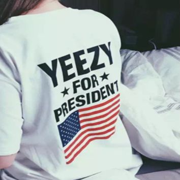Cool Yeezy for President Tshirt Yeezus Shirt for Women