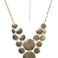 Diamond Dusted Statement Necklace | Shop Jewelry at Wet Seal