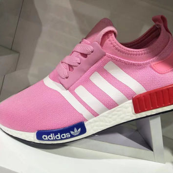 """Adidas"" Fashion Casual Multicolor Weave Sneakers Women Running Shoes"