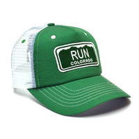 RUN COLORADO CLASSIC TRUCKER HAT