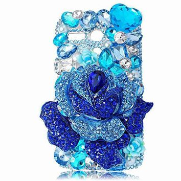 Rhinestone Case Cover For iPhone 7 6 6S Plus 5S Samsung Galaxy S7 S6 Edge Plus S5 S4 mini Note 7 5 4 For Huawei Sony HTC Xiaomi