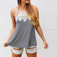 Crochet Patch Kids Tank
