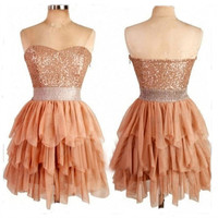 Sweetheart orange tulle short prom dress / ball gown/ Evening Dress/Evening Gown/Bridesmaid Dress/Bridesmaid Gown