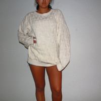Oversize Vintage Sweater 80's