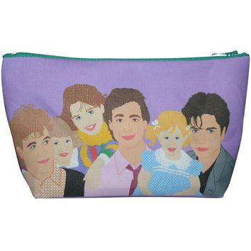 Full House Makeup Bag – Pop Icon Zipper Pouch