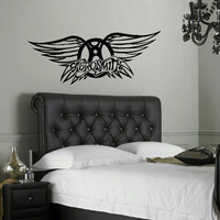 Aerosmith Large Kitchen Bedroom Wall Mural Giant Art Sticker Decal Matt Vinyl
