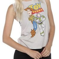 Disney Toy Story Sleeveless Girls T-Shirt - 166771