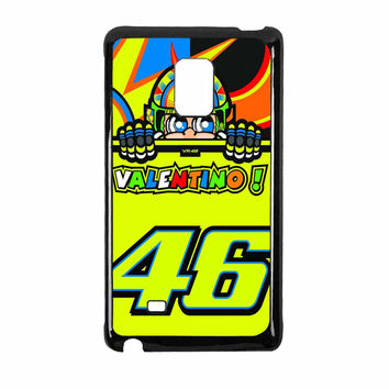 Valentino Rossi The Doctor 46 Logo Samsung Galaxy Note Edge Case