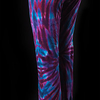 Tie Dye Summer Yoga Dance Pant - Hand Dyed