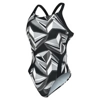 NIKE SWIM Jagged Geo Modern Fast Back Tank - Metro Swim Shop