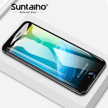 Suntaiho Tempered Glass  2.5D 9H Ultra-thin For iPhone X 8 7 6 6s Plus 6 6s 5 5s  Premium Screen Protector