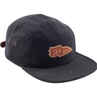 Jerks Pennant Navy Waxed Canvas 5Panel Hat - Shop | Benny Gold