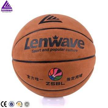 Size 7 sports training PU basketball official game ball outdoor indoor basketball gift inflatable needle and basketball net PU
