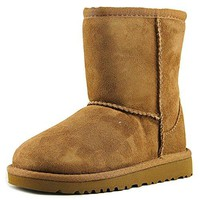 UGG Australia Children's Classic Toddler Suede Boots,Chestnut,12 Child US
