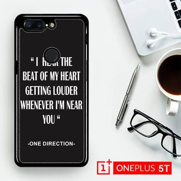 One Direction Lyrics R0263  OnePLus 5T / One Plus 5T Case