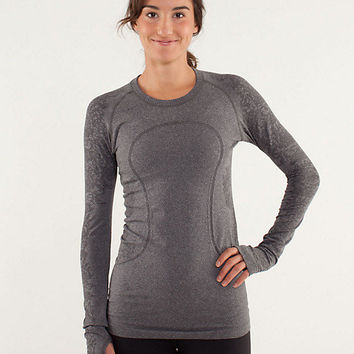 run: swiftly tech long sleeve *lace | women's tops | lululemon athletica