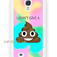 case,cover fits samsung models>Tie Dye,poop,Emoji,emojis,bright,smiley,happens
