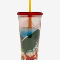 South Park Winter Scene Acrylic Travel Cup
