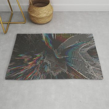 Get Lost -Grid Rug by duckyb