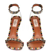 VALENTINO Painted leather sandal