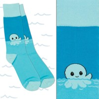 Friendly Octopus Socks | Funny, cute & nerdy socks – TeeTurtle