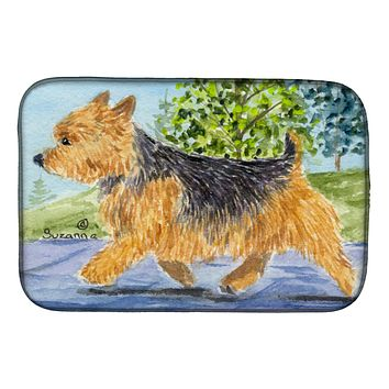 Norwich Terrier Dish Drying Mat SS8879DDM