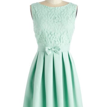 ModCloth Pastel Mid-length A-line Croquet Match Cutie Dress