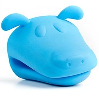 Kitchen Kritters Blue Dog Silicone Pot Holder