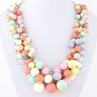 Jewelry New Arrival Gift Shiny Stylish Metal Sweets Necklace [6586258759]