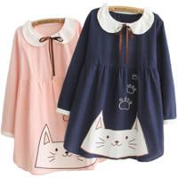 Cute Kitty Kawaii Dress