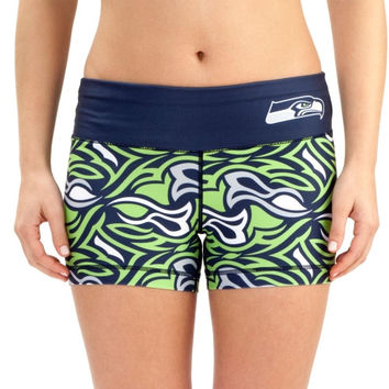 Seattle Seahawks Women's Thematic Print Shorts – College Navy