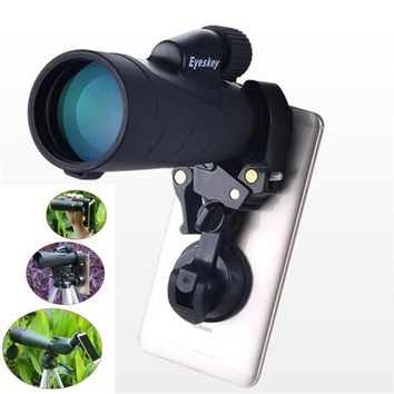 NEW Multifunction Suction cup holder Smartphone Phone Camera Adapter Compatible with Binoculars Monocular Astronomical Telescope