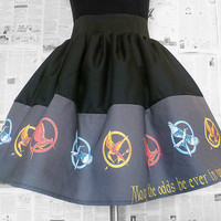 The Hunger Games, Catching Fire, Full Skirt , All Sizes, Katniss Costume, ROOBY LANE