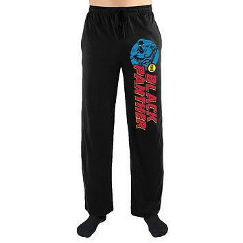 Marvel Comics Black Panther Print Men's Lounge Pants