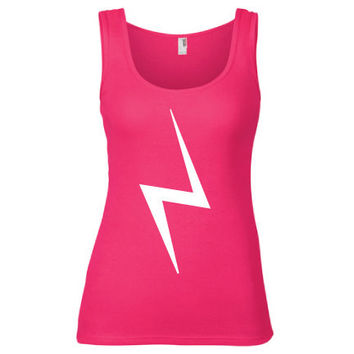 Harry Potter Inspired Clothing - Lightning Bolt Semi-Fitted Tank - Ladies