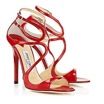JIMMY CHOO Womens Heeled Sandals Lance