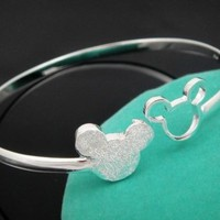 Mickey Mouse Silver Plated bracelet
