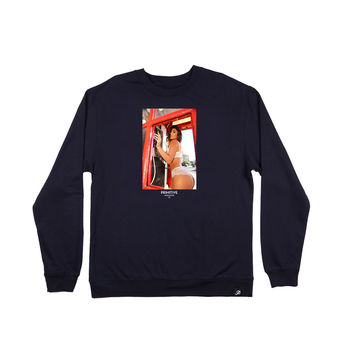 BOOTH CREWNECK - NAVY