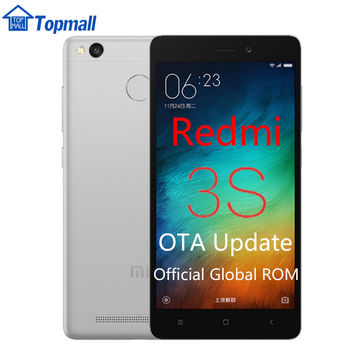 In stock Xiaomi Redmi 3S  Mobile Phone 16GB ROM Snapdragon 430 global firmware OTA update  Fingerprint ID 5.0""