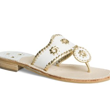 Hamptons Navajo - Metallic Sandals - Shoes - Jack Rogers USA