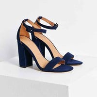 Thin Ankle Strap Heel