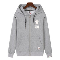 Men Hats Winter Men's Fashion Stylish Zippers Hoodies [10641291207]