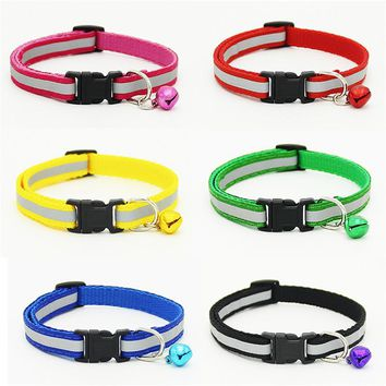 Reflective High Quality Nylon Cat Collar - Multiple Colors