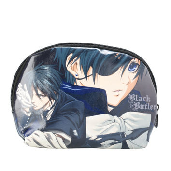 Black Butler Sebastian Ciel Cosmetic Bag