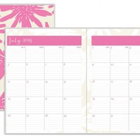 July 2015 - June 2016 Susy Jack Blomma Monthly Stapled Planner 8.5x11