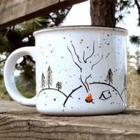Campfire Nights mug // camping mug // June Resolution Release