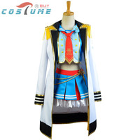 LoveLive! Love Live Umi Sonoda Sailor Uniform Bowknot Cloak Coat Cap Skirt Anime Halloween Cosplay Costumes For Women Custom