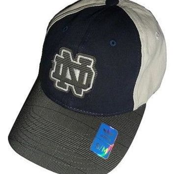 Adidas Notre Dame Fighting Irish Adult Flex Slouch Cap - Fashion Color Hat (S/M)
