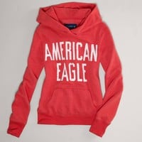 AE Signature Hooded Popover | American Eagle Outfitters