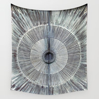 Minas Tirith Awaits Wall Tapestry by RichCaspian